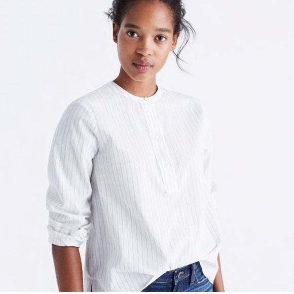 ed594762d1c Madewell Tops - Madewell Striped Popover Shirt